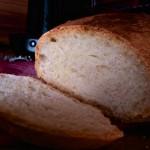 angeschnittenes Brot