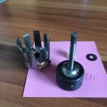 Dauermagnet und Spule